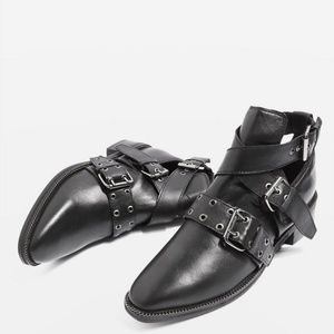 Top Shop Adrian Moto Style Boots